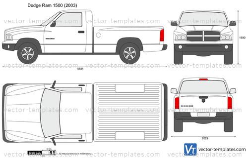 2012 Dodge Ram 1500 Headlights >> Templates - Cars - Dodge - Dodge Ram 1500