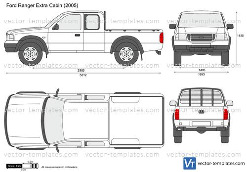 Ford Ranger Extra Cabin