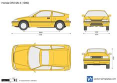 Honda CRX Mk 2
