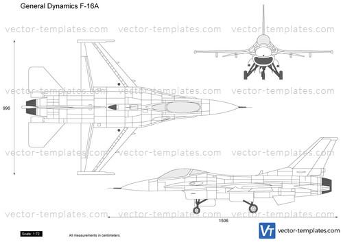 General Dynamics F-16A