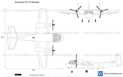 templates - modern airplanes - grumman