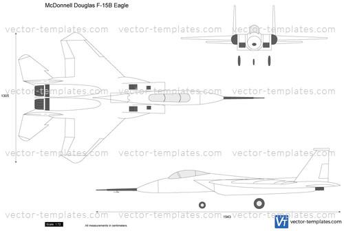 McDonnell Douglas F-15B Eagle
