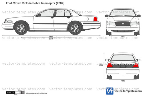 Templates Cars Ford Ford Crown Victoria Police