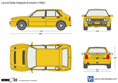 Lancia Delta Integrale Evolution