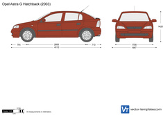 Opel Astra G Hatchback