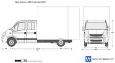 Opel Movano LWB Crew Cab