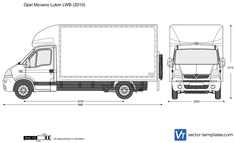 Opel Movano Luton LWB