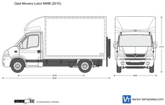 Opel Movano Luton MWB