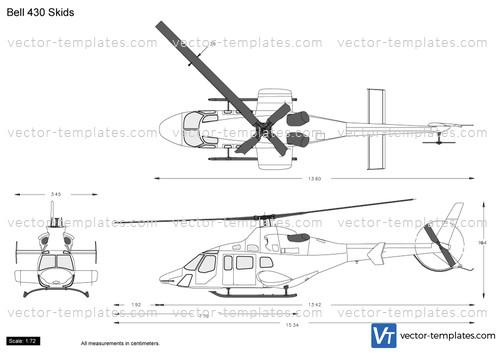 Bell 430 Skids
