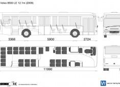 Volvo 8500 LE 12.1m