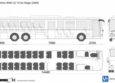 Volvo 8500 LE 14.5m Bogie