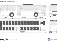 Volvo 8700 12.0m