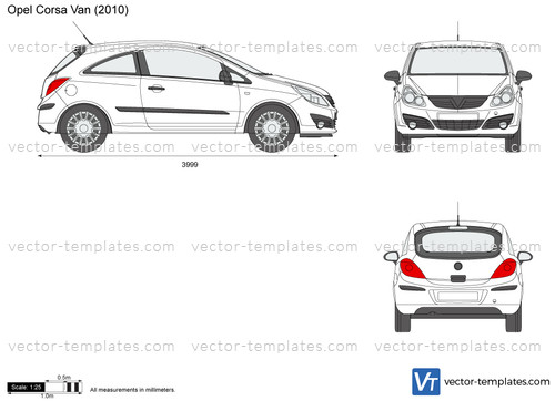 templates - cars - opel