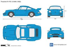 Porsche 911 RS 3.8 964