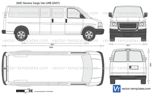 GMC Savana Cargo Van LWB