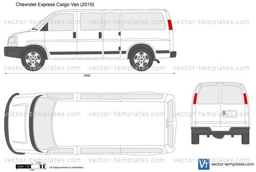 Templates - Cars - Chevrolet - Chevrolet Express Cargo Van