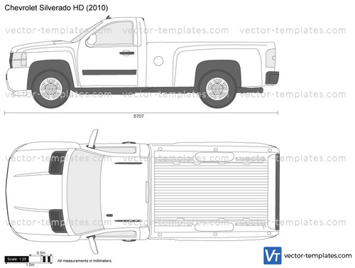 Templates - Cars - Chevrolet - Chevrolet Silverado HD