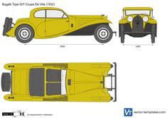 Bugatti Type 50T Coupe De Ville