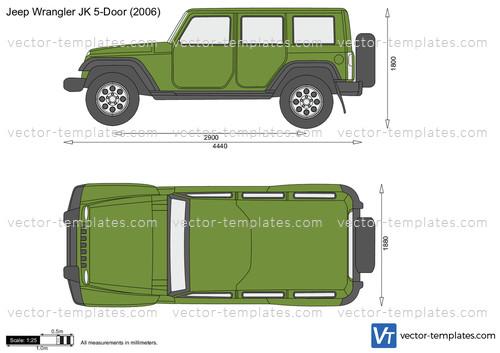 Templates Cars Jeep Jeep Wrangler 5 Door