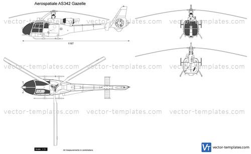 Aerospatiale AS342 Gazelle