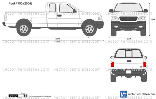 Templates Cars Ford Ford F 150