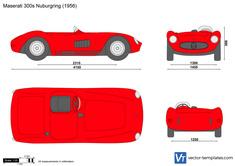 Maserati 300s Nurburgring