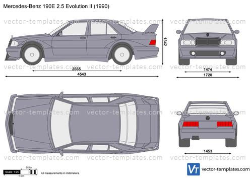 Mercedes-Benz 190E 2.5 Evolution II