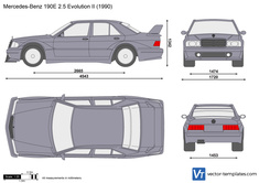 Mercedes-Benz 190E 2.5 Evolution II