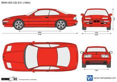 BMW 850 CSi E31