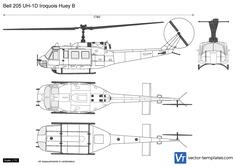 Bell 205 UH-1D Iroquois Huey B