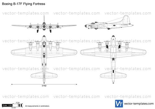 Templates Ww2 Airplanes Boeing Boeing B 17f Flying