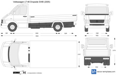Volkswagen LT 46 Dropside SWB