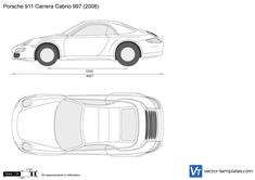 Porsche 911 Carrera Cabrio 997
