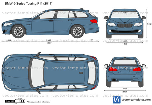 BMW 5-Series Touring F11