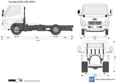 Hyundai HD45 LWB