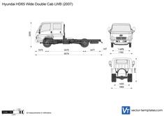 Hyundai HD65 Wide Double Cab LWB