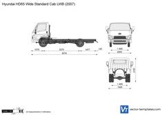 Hyundai HD65 Wide Standard Cab LWB