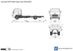 Hyundai HD78 Wide Super Cab LWB