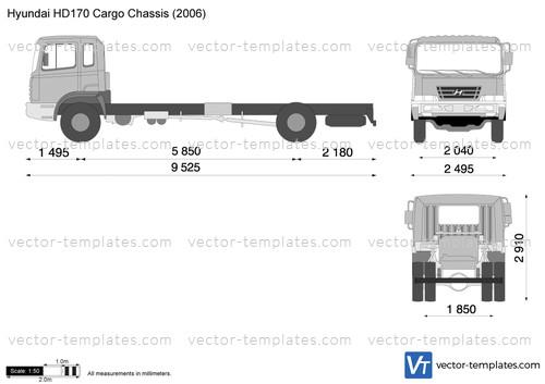 Hyundai HD170 Cargo Chassis