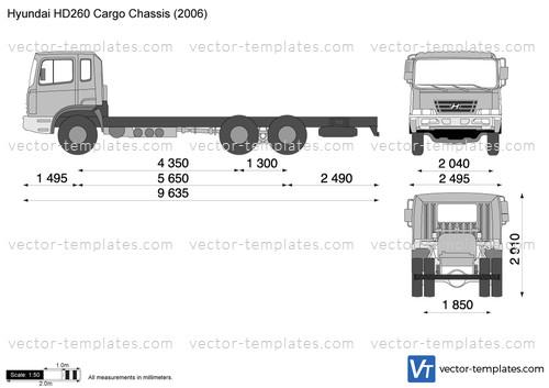 Hyundai HD260 Cargo Chassis