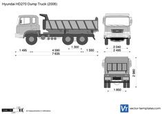 Hyundai HD270 Dump Truck