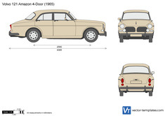 Volvo 121 Amazon 4-Door