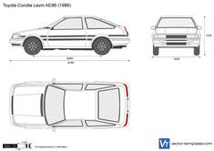 Toyota Corolla Levin AE86