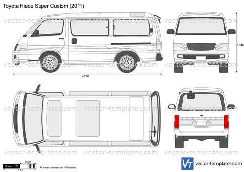 Templates Cars Toyota Toyota Hiace Super Custom