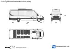 Volkswagen Crafter Strada Schoolbus