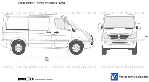 Dodge Sprinter 144inch Wheelbase