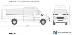 Dodge Sprinter 170inch Wheelbase Extended Mega Roof