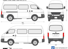 Nissan Urvan Diesel Toldo Alto