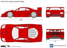Ferrari F40 Le Mans Shell 59