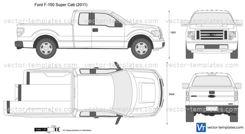 Templates Cars Ford Ford F 150 Super Cab